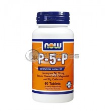 P-5-P - 50 mg. / 60 VTabs.