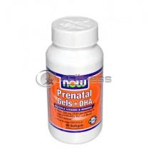 Prenatal Gels + DHA - 90 Softgels