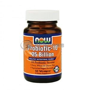 Probiotic-10 ™ / 25 Billion - 50 VCaps.