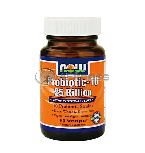 Probiotic-10 ™ / 25 Billion – 50 VCaps.