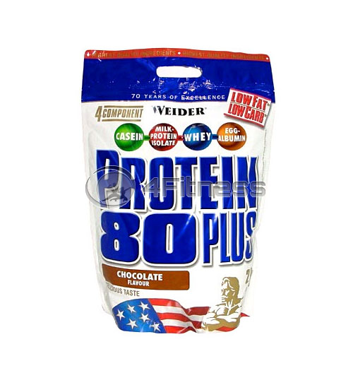 Protein 80+ Stand-up Bags – 2000 gr.