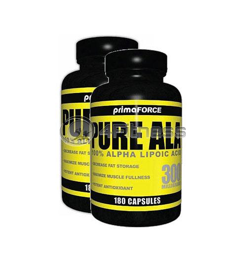 Pure ALA – 180 Caps. / x2 stack
