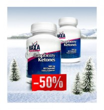 Raspberry Ketones - 500 mg. / 1+50% OFF stack