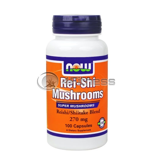 Rei-Shi Mushrooms – 270mg. / 100 Caps.