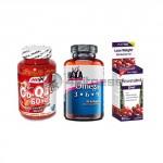 Resveratrol Diet / Omega 3-6-9 / Co-Q10 stack