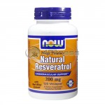 Natural Resveratrol /Mega Potency/ – 200 mg. / 120 VCaps.