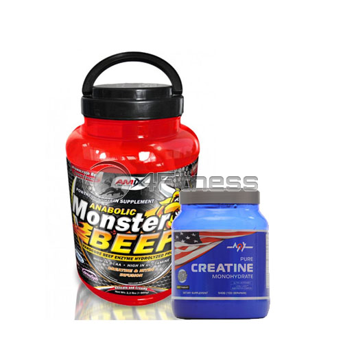 Monster Beef – 2270 gr. / Creatine Monohydrate stack