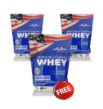 American Whey - 2270 gr. / 2+1 FREE stack