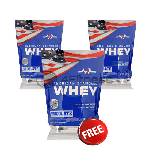 American Whey – 2270 gr. / 2+1 FREE stack