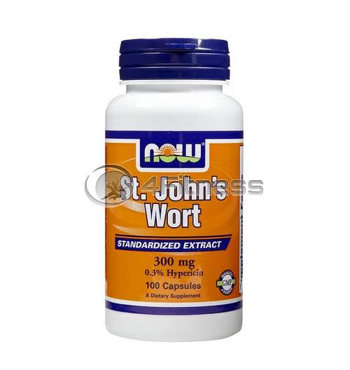 St. John's Wort – 300 mg. / 100 Caps.