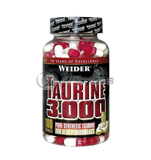 Taurine 3.000 – 180 Caps.