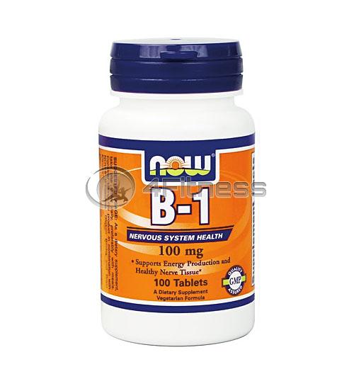 Vitamin B-1 /Thiamine/ – 100 mg. / 100 Tabs.