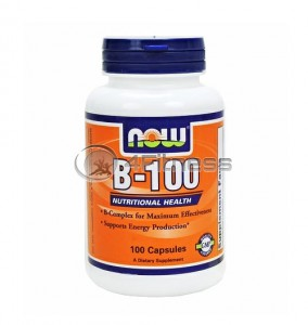 Vitamin B-100 - 100 Caps.
