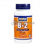 Vitamin B-2 /Riboflavin/ – 100 mg. / 100 Caps.