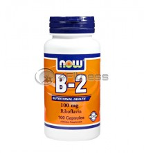 Vitamin B-2 /Riboflavin/ - 100 mg. / 100 Caps.
