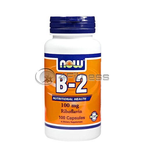 Vitamin B-2 /Riboflavin/ – 100 mg. / 100 Caps.