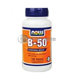 Vitamin B-50 - 100 Caps.