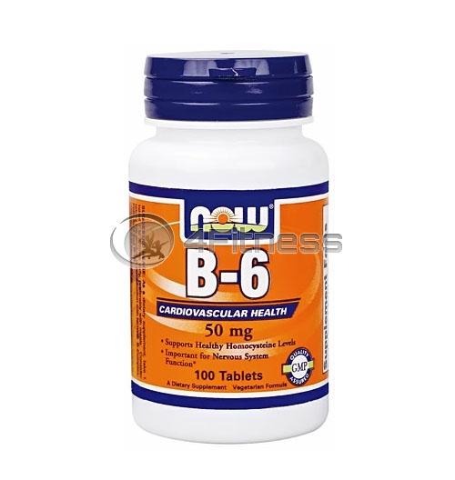 Vitamin B-6 / – 50 mg. / 100 Tabs.