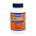 Vitamin C-1000 /Rose Hips/ – 100 Tabs.