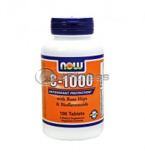 Vitamin C-1000 /Rose Hips/ - 100 Tabs.