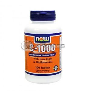 Vitamin C-1000 /Rose Hips/ - 100 Tabs.