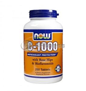 Vitamin C-1000 /Rose Hips/ - 250 Tabs.