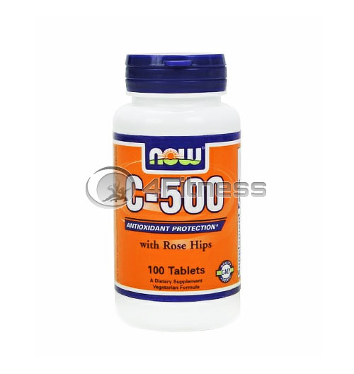 Vitamin C-500 /Rose Hips/ – 100 Tabs.