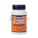 Vitamin E-200 IU /Mixed Tocopherols/ - 100 Softgels