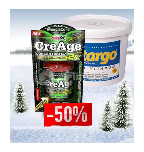 Pure + CreAge 50% OFF stack
