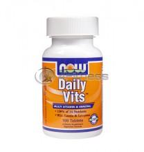 Daily Vits ™ Multi Vitamin & Mineral - 100 Tabs.