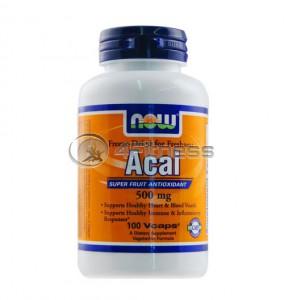 Acai - 500 mg. / 100 VCaps.