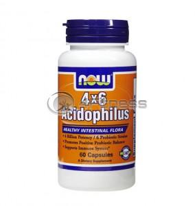 Acidophilus 4X6 - 60 Caps.