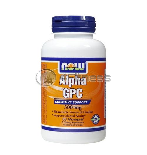 Alpha GPC – 300 mg. / 60 Caps.