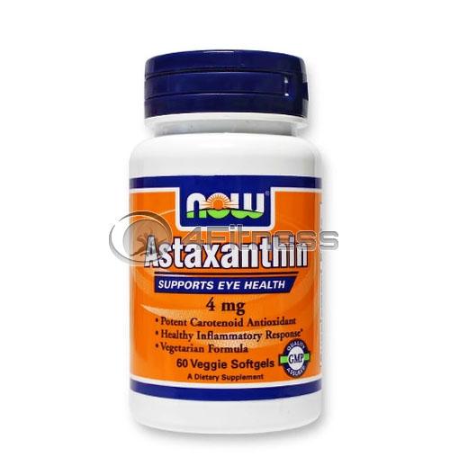 Astaxanthin – 4 mg. / 60 Veggie Softgels