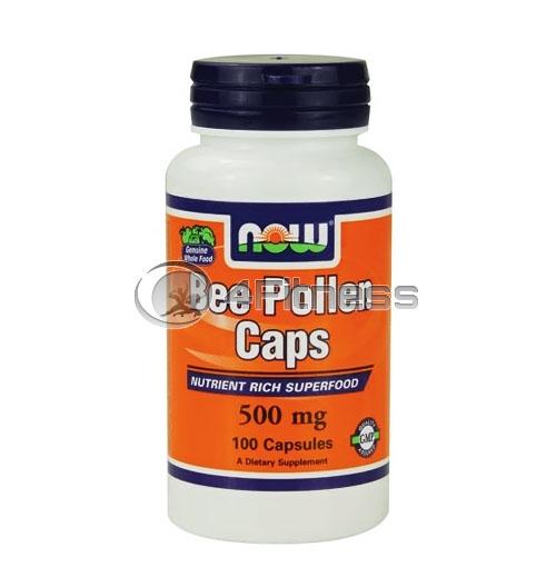 Bee Pollen – 500 mg. / 100 Caps.