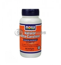Beta Carotene Natural 25.000 IU - 90 Softgels