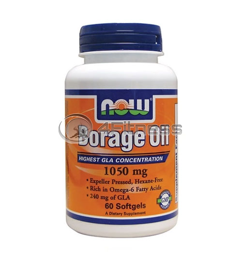 Borage Oil – 1050 mg. / 60 Pills.