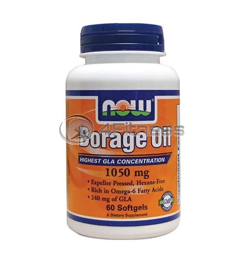 Borage Oil – 1050 mg. / 60 Pills.
