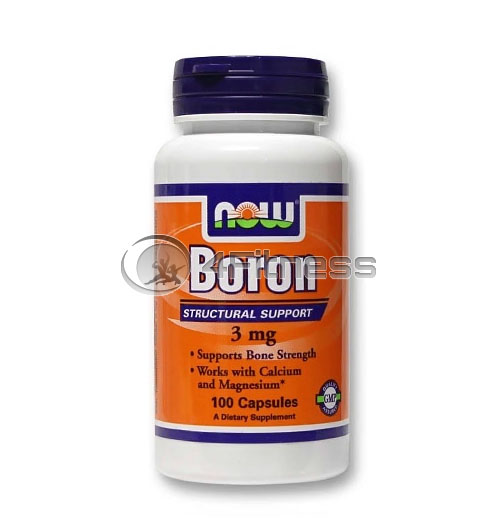 Boron – 3 mg. / 100 Caps.