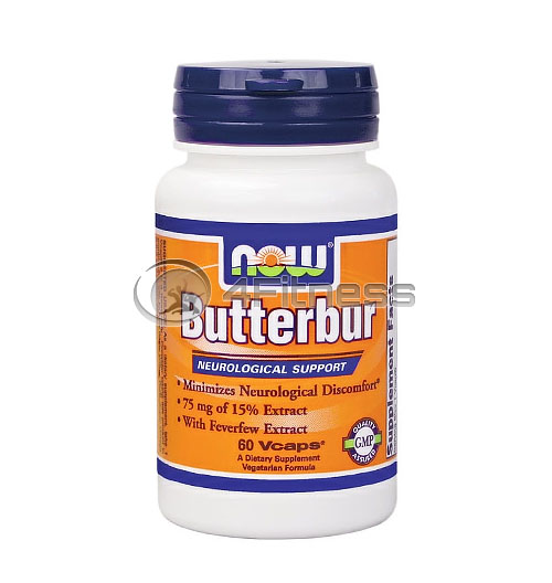Butterbur with Feverfew – 60 VCaps.