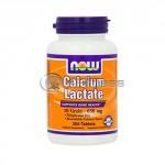 Calcium Lactate 10 Grain - 650mg / 250 Tabs.
