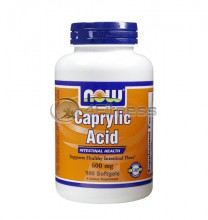 Caprylic Acid - 600 mg. / 100 Softgels