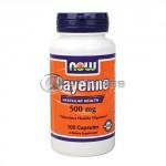 Cayenne – 500 mg. / 100 Caps.