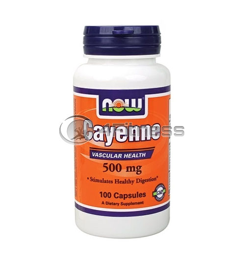 Cayenne – 500 mg. / 100 Caps.