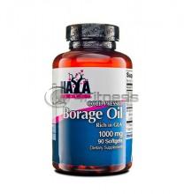Cold Pressed Borage Oil - 1000 mg. / 90 Softgels