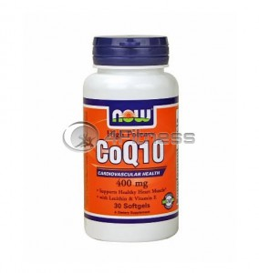 CoQ10 - 400 mg. / 30 Softgels