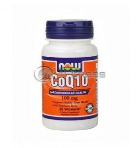 CoQ10 with Hawthorn Berry - 100 mg. / 30 VCaps.