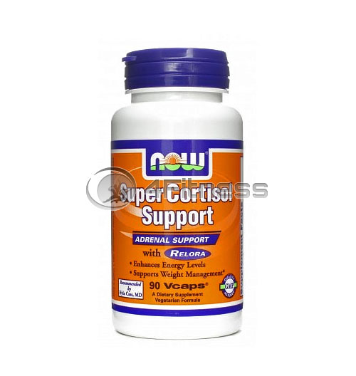 Super Cortisol Support with Relora – 90 VCaps.