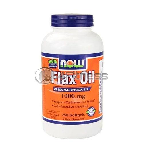 Flax Oil – 1000mg. / 250 Softgels