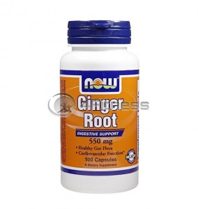 Ginger Root - 550 mg. / 100 Caps.